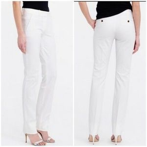 J Crew Campbell Pant In Two Way Stretch Cotton 4